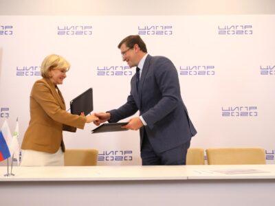 Глеб Никитин и Ольга Голодец подписали соглашение о партнерстве по использованию цифровых платформ в сфере здравоохранения