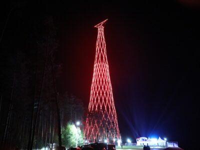 128-метровую ШуховскуюбашнюнаОке торжественно открыли после реконструкции