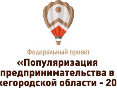 Около 2000 нижегородцев приняли участие в проекте «Популяризация предпринимательства»