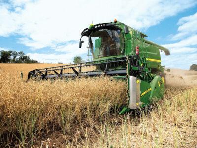 Нижегородские аграрии собрали рекордное количество зерна