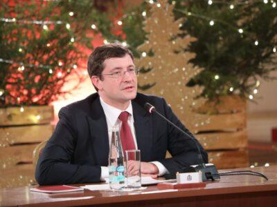 Поздравление губернатора Нижегородской области Глеба Никитина с Новым 2021 годом